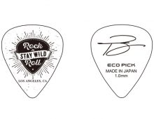 Toshi Yanagi : ORIGINAL PRINT : ECO PICK JAZZ 1.0mm